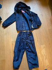 Kinder Regenkombi (Regenjacke & Matschhose /Regenhose) Ticket to Heaven 122 blau