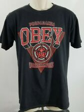 OBEY SHEPARD FAIREY ART PROPAGANDA WORLD CHAMPIONS ANDRE STAR T SHIRT Sz M 397
