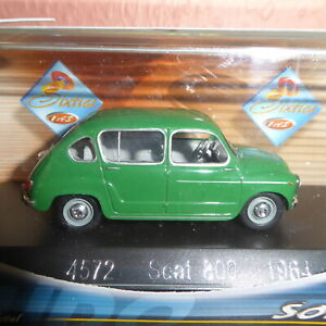 Solido 1:43 Car Seat 800 From 1964 Car Limited Boxed