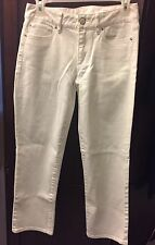 Lilly Pulitzer Main Line Capri Jeans Denim Pants Resort White 2