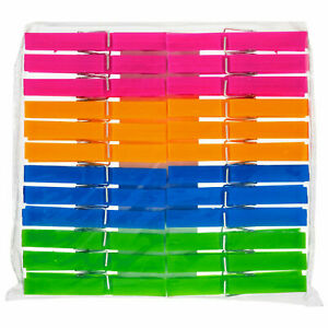 22 Jumbo Storm Plastic Clothes Pegs Clips Washing Line Airer Rotary Dry Laundry