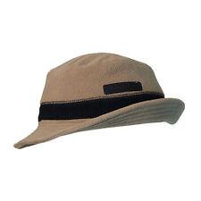 Serious Fleece Winter Ski Sun Hat - Khaki / Black