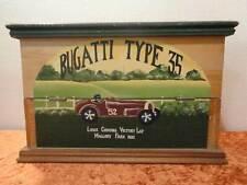 Holz Flaschen Kiste / Schränkchen - Vintage-Design - Shabby Chic - Dekor Bugatti