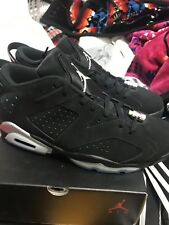 Nike Air Retro Jordan 6 Chrome Size 10 %100 Authentic