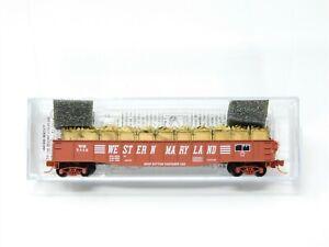 N Scale Micro-Trains MTL 04500420 WM Western Maryland 50' Gondola w/ Load #5446