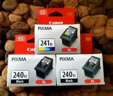 Canon Ink Two PG 240XL & One CL 241XL Ink Cartridges  *SEALED*
