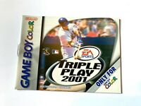 Triple Play 2001 Nintendo Game Boy Color Instruction Manual Only Booklet Book