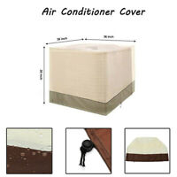 91x91x100cm Outdoor Square Air Conditioner Protective Cover Waterproof
