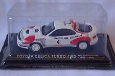 TOYOTA CELICA TURBO 4WD Sains / Moya 1992 CATALUNYA  RALLY 1/43  ALTAYA / IXO