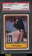 New listing 1981 Donruss Golf Gil Morgan #28 PSA 9 MINT