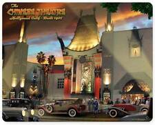 Chinese Theatre California Movies Metal Sign Wall Decor Larry Grossman LG416