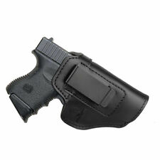 IWB Leather Gun Holster For.. Choose Color & Gun Model