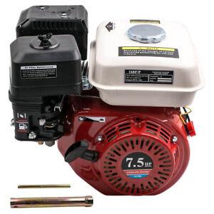 7,5 PS 4 Takt 5.1 kW Benzinmotor Standmotor Wasserpumpe Kartmotor 20mm Welle