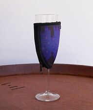 Champagne Glass Coolers Neoprene Pack of 6 Purple Kris Kringle Stocking Fillers