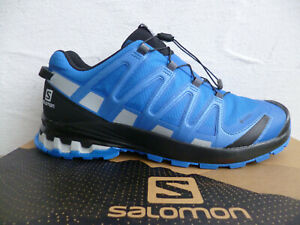 Salomon Sportschuhe Halbschuhe Sneakers XA PRO 3D v8 GTX blau Neu!!!