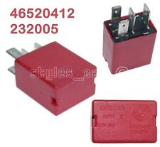 46520412 Genuine Fiat Alfa Lancia Multi Use 4-Pin Red Relay 232005 30A B047E