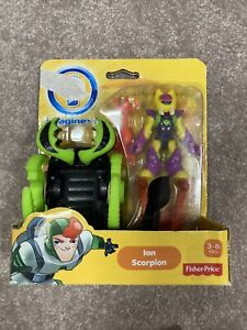 IMAGINEXT 2013 COSMIC CHAOS ION SCORPION SET AGES 3-8