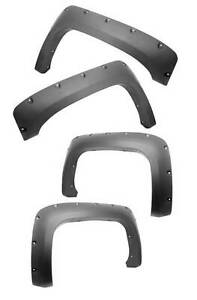 New Chevrolet Silverado 2500 Hd 07-11 All Terrain Fender Flares 4 Pc X 81630.20