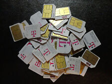 Used T-Mobile 3Ff Micro Sim Card Part For Test,Bypass ,Insert Sim,*Unlocking