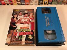 * Como Agua Pa' Longaniza Mexican Comedy VHS 1996 Rafael Inclan Mexi Spanish