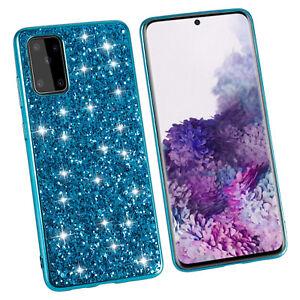 For Samsung Galaxy Note 20 Ultra Glitter Bling Diamond Cover Slim Matte Case