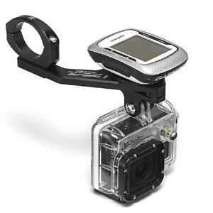 Relic Bicycle Action Camera Handlebar Mount Combo for Gopro and Garmin - Black