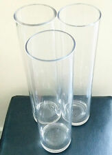 Wedding Cylinder vase for hire 40cm tall centrepieces – 43 in total available!