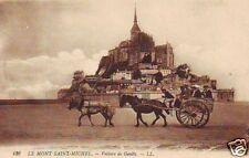 CPA Le Mont Saint-Michel Voiture de Genéts (p84844)