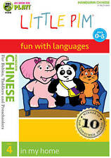 Little Pim: Chinese, Vol. 4 - In My Home DVD Sealed Brand New With Free Shipping