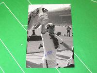 West Ham United Paul Allen Signed 1980 FA Cup Final Trophy Photograph