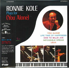 RONNIE KOLE-RONNIE KOLE PLAYS FOR (YOU ALONE)-JAPAN MINI LP CD E25