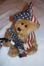 "Ty Plush Bear- Stars & Stripes 8"""