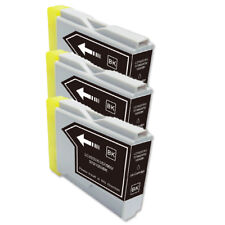 3 BLACK Ink Cartridge for Brother LC51BK MFC 440CN 465CN 665CW 685CW 845CW