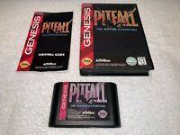 Pitfall: The Mayan Adventure (Sega Genesis) CIB Complete in Box Vr Nice!