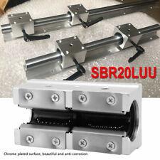 Sbr20luu 20mm Open Linear Bearing Slide Linear Motion Block Cnc Aluminum