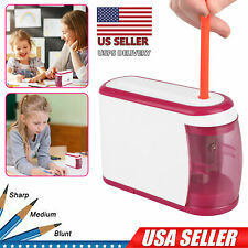 Battery Operated Automatic Electric Pencil Sharpener For Kids Home Office School