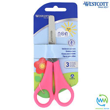 1 Pair RIGHT HANDED Children's Scissors SAFETY School Children Kids WESTCOTT NEW