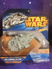 Star Wars-HOT WHEELS Die Cast The Millenium Falcon avec vol Navigator