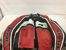 Alpinstars Leather Motorcycle Jacket Size USA 10 EUR 46 (ML1032119)