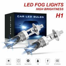 2pcs H1 8000k Ice Blue 200W High Power LED Fog Light Car Driving Bulb DRL Lamp