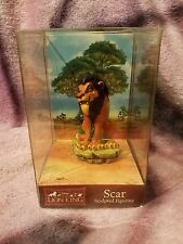 CVS Enesco Disney The Lion King Scar Sculpted Figurine MIB
