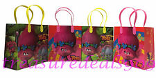 24 PC TROLLS GOODIE BAGS PARTY FAVORS CANDY LOOT TREAT BIRTHDAY BAG DREAMWORKS