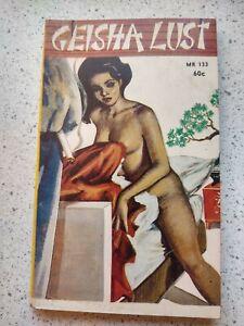 Geisha Lust 1963 vintage sleaze paperback fine condition