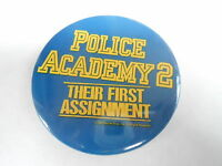 VINTAGE PROMO PINBACK BUTTON #83-065 - MOVIE - POLICE ACADEMY 2 - #2