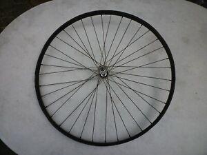 Alte Vorderrad/Fahrradfelge/Felge/Wulstfelge - 28 Zoll - Stahlfelge !