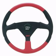 "Grant GT 1067 Red Black 13.75"" Steering Wheel 3/4"" Tapered Keyway Boat Adapter"