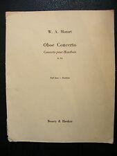 Spartito Concerto per Oboe K 314 WA Mozart Music Sheet