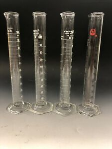 Pyrex 3024-100 100mL Single Metric Scale Graduated Cylinder