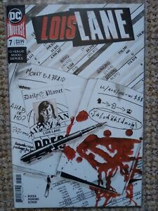 Lois Lane #7 Cameo Kiss of Death NM