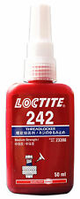 LOCTITE 242 MEDIUM STRENGTH - THREADLOCK - ALL METAL ADHESIVE -  50 ML